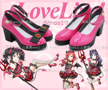 Love Live All Member Little Devil Demon Cosplay Shoes Anime Cos