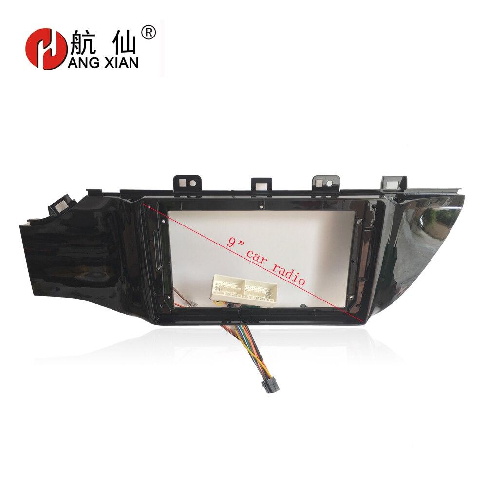 HANG XIAN 2Din Car DVD player Frame Audio Fitting Adaptor Dash Trim Kits Facia Panel For