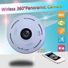 360 학위 방수 VR 파노라마 미니 P2P 홈 보안 IP 카메라 IR 야간 투시경 960 P HD 모니터 감시 보안 카메라