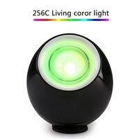 Qedertek Romantico Professionale 256 Colori Living Color Light Lampada LED Mood Light Touchscreen Barra di Scorrimento USB Regalo Per Il Bambino