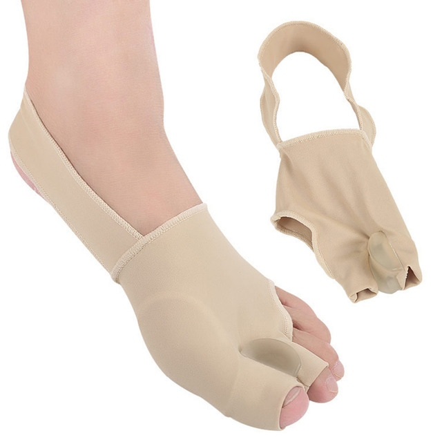 1 paar S/L SEBS Big Toe Bunion Splint Corrector Foot Pain Relief Hallux Valgus für beide füße therapie Einfach zu tragen