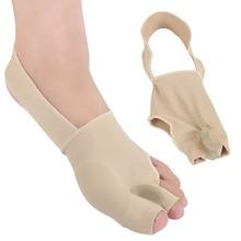1 ペアs/l sebs親指腱膜瘤スプリントストレイテナーコレクター足の痛みを軽減外反母趾ため両足治療着やすい