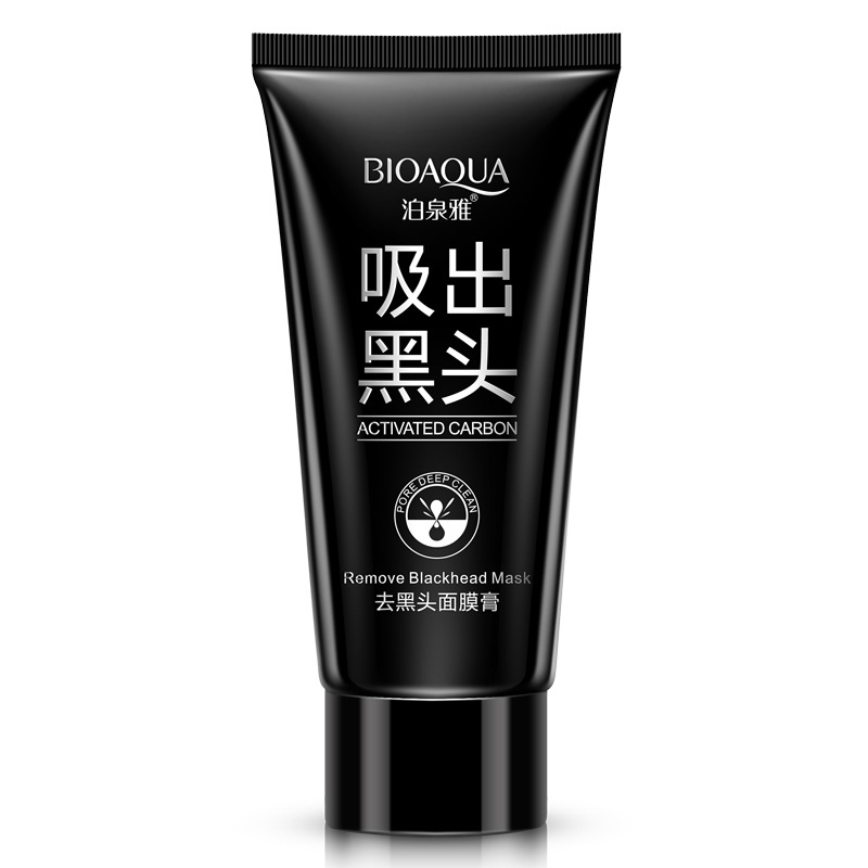 Face mask remove blackheads nose pack gel blackhead remover oil control  black peel mask facial skin care whitening strips head