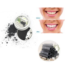 Отбеливающий зубной порошок натуральный бамбуковый уголь зуб Органическая Кокосовая Скорлупа углеродный Коко средства гигиены полости рта