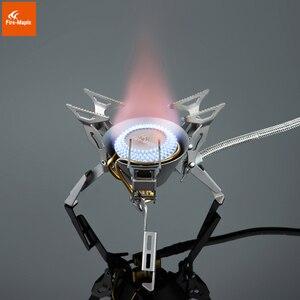 Image 3 - Складные горелки Fire Maple KING KONG, титановые горелки для кемпинга, пешего туризма, газовая плита, оборудование, 199 г 2450 Вт, FMS 100T