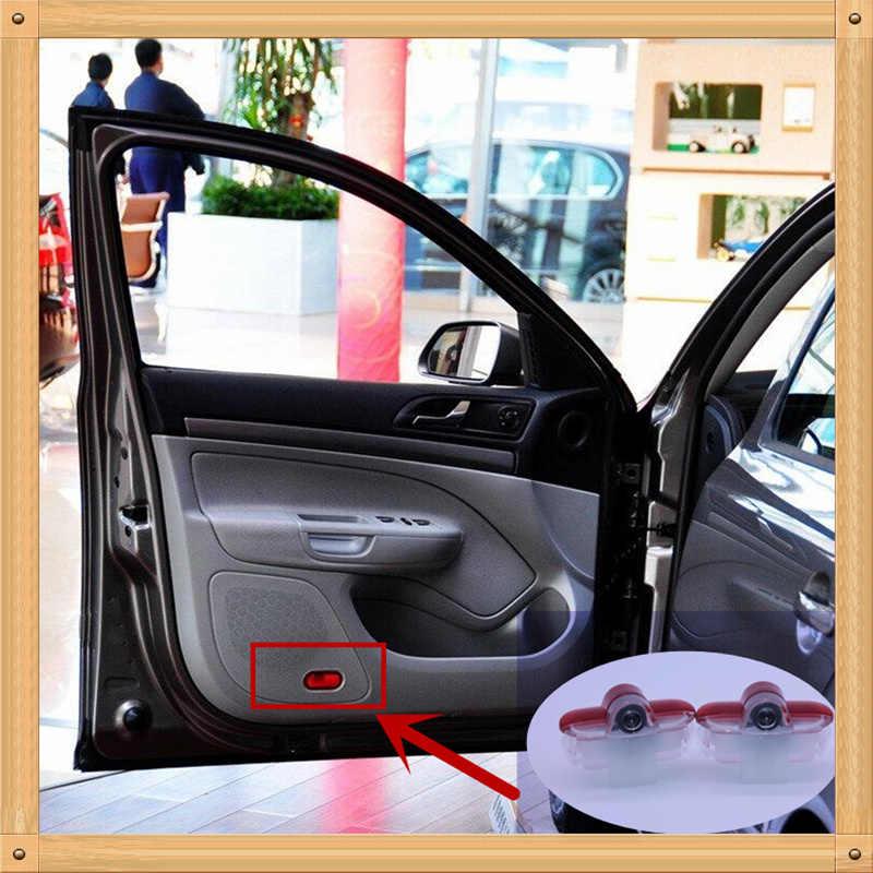 Для VW Golf 4 MK4 Touran Caddy Bora Beetle Golf4 светодиодный Автомобильный Дверной проекционный логотип огни