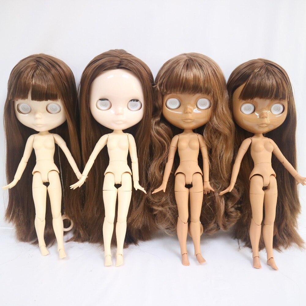 Nie gałki oczne, wspólne ciało Blyth doll z brązowe włosy (seria No. SF 63) w Lalki od Zabawki i hobby na AliExpress - 11.11_Double 11Singles' Day 1