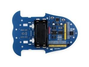 Image 3 - Waveshare kit Robot alphabet, compatible avec Raspberry Pi/Arduino, télécommande IR, mesure de la vitesse de voiture intelligente, livré avec caméra ect