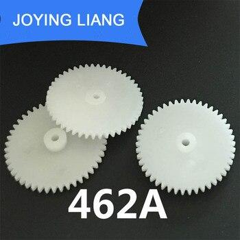 462A 0.5M 46 Teeth 2mm Shaft Tight Pom Plastic Gear Toy Model Gear (1000pcs/lot)