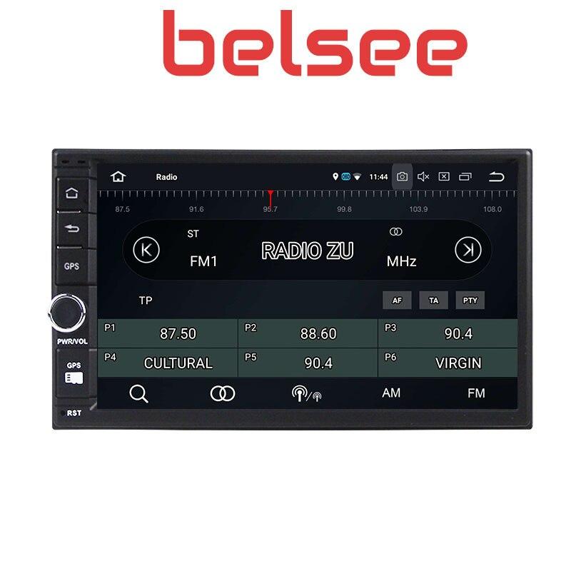 Belsee Melhor Duplo Din Unidade de Cabeça para Android 9.0 Din Som Do Carro Auto 2019 GB Ram 2 4 7 universal Sistema de Navegação GPS Rádio Do Carro - 2