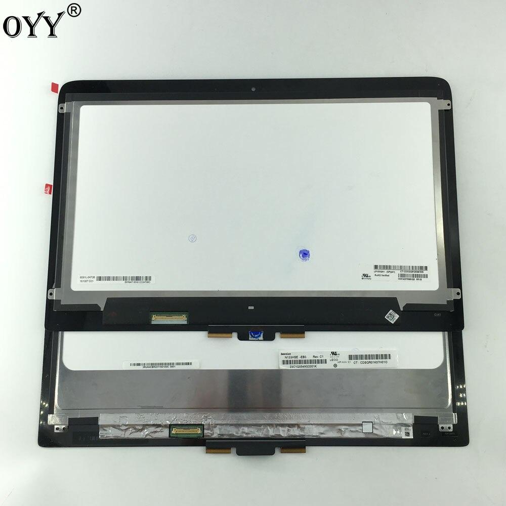 13.3 ''LCD Assemblée Tactile Digitizer Écran D'ordinateur Portable Pour HP Spectre x360 13-4000 série 13-4xxxx 13-4115 1920*1080 OU 2560*1440