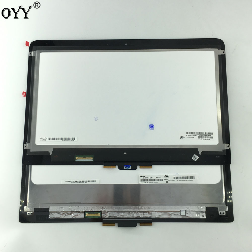 13.3 LCD Assembly Touch Screen Digitizer Laptop For HP Spectre x360 13-4000 series 13-4xxxx 13-4115 1920*1080 OR 2560*1440
