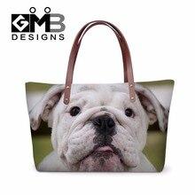 Fashionable 2016 tote bag for women Large Dog Printed Shoulder handbag multi-function travel shopping extra large bag sac a main