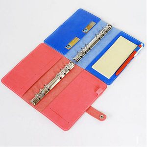 Image 3 - Korean Creative Loose   leaf  Planner Retro Diary Business Agenda Bind Snap Notebook Portable Small Notebook Stationery Book