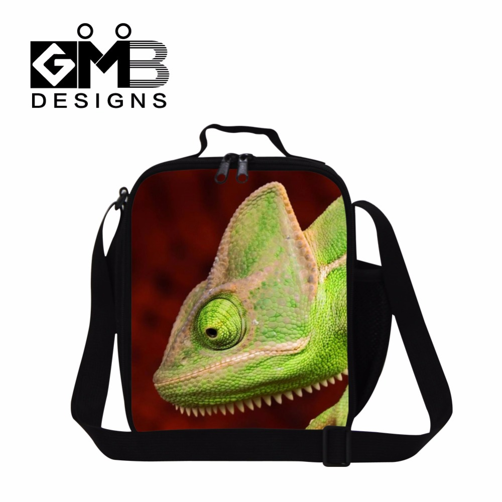 2017 Crossbody cabrite lunch bag for kids boys cool lunch box bag with straps,bluey pattern small insulated cooler bag for girls