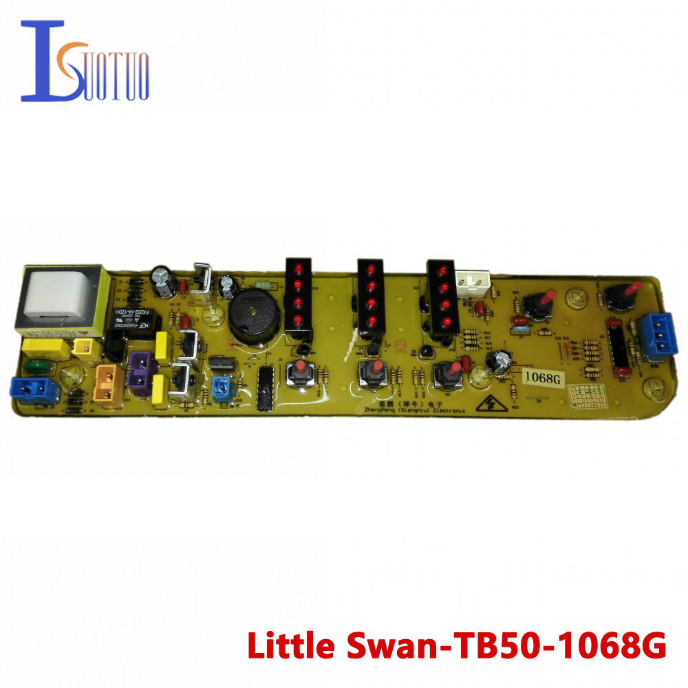 Little Swan washing machine brand new computer board TB50-1068G TB60-1068G MB60-3006G wire universal board computer board six lines 0040400256 0040400257 used disassemble