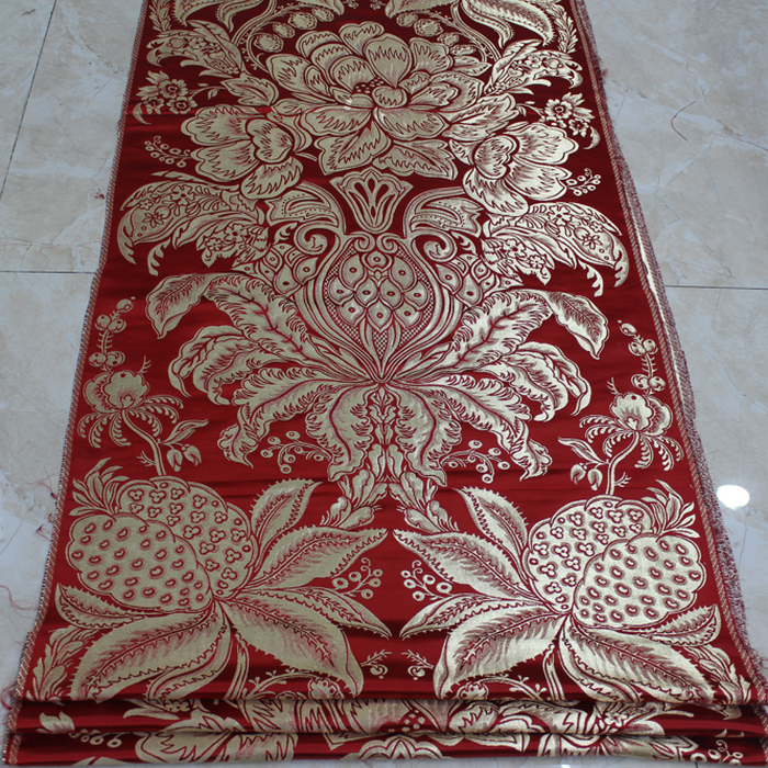 Jacquard  Brocade Fabric Robe Woven Cloth Dress Show Clothing  Wo Television Stage Mongolia Decoration SoftJacquard  Brocade Fabric Robe Woven Cloth Dress Show Clothing  Wo Television Stage Mongolia Decoration Soft