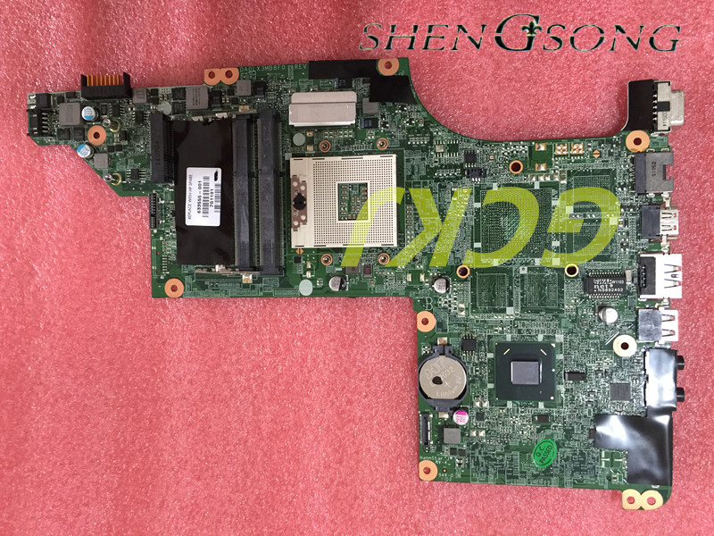 633555-001 Free Shipping for HP Pavilion DV6 DV6-4000 series laptop motherboard HM65 DA0LX3MB8F0 REV:F mainboard 100% tested