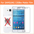 3 unids para samsung galaxy grand prime g5308w antideslumbrante mate de la pantalla protector films con anti-huella digital mate guardia panel