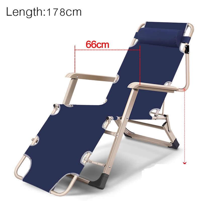 Cama Cum sofá Cadeira de Acampamento Mueble Arredo Mobilização Da Giardino Cama Dobrável Chaise Lounge Mobília do Salão de beleza De Jardin Jardim Ao Ar Livre