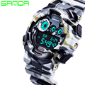 New Hot Sale Sanda Fashion Casual Watch Men Military Waterproof Luxury Sports Digital Watch Male Wrist Watches