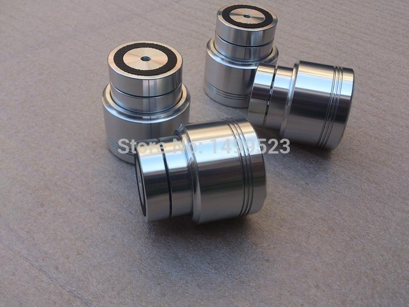 4PCS Amplifier Aluminum Feet D53*H58 Sound Lsolation Spikes Maglev Feet HIFI Audio amplifier Stand Mat