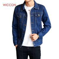 2019 Men Jean Jackets Dark Blue Black Clothing Denim Jacket Fashion Man Jeans Jacket Thin Spring Outwear Male Cowboy Plus Size