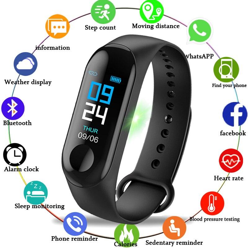 GEJIAN 2018 New Women Sport Waterproof Watch Blood Pressure Heart Rate Monitor Smart Watch Men Fitness tracker pedometer Watch iphone smart watch for girls