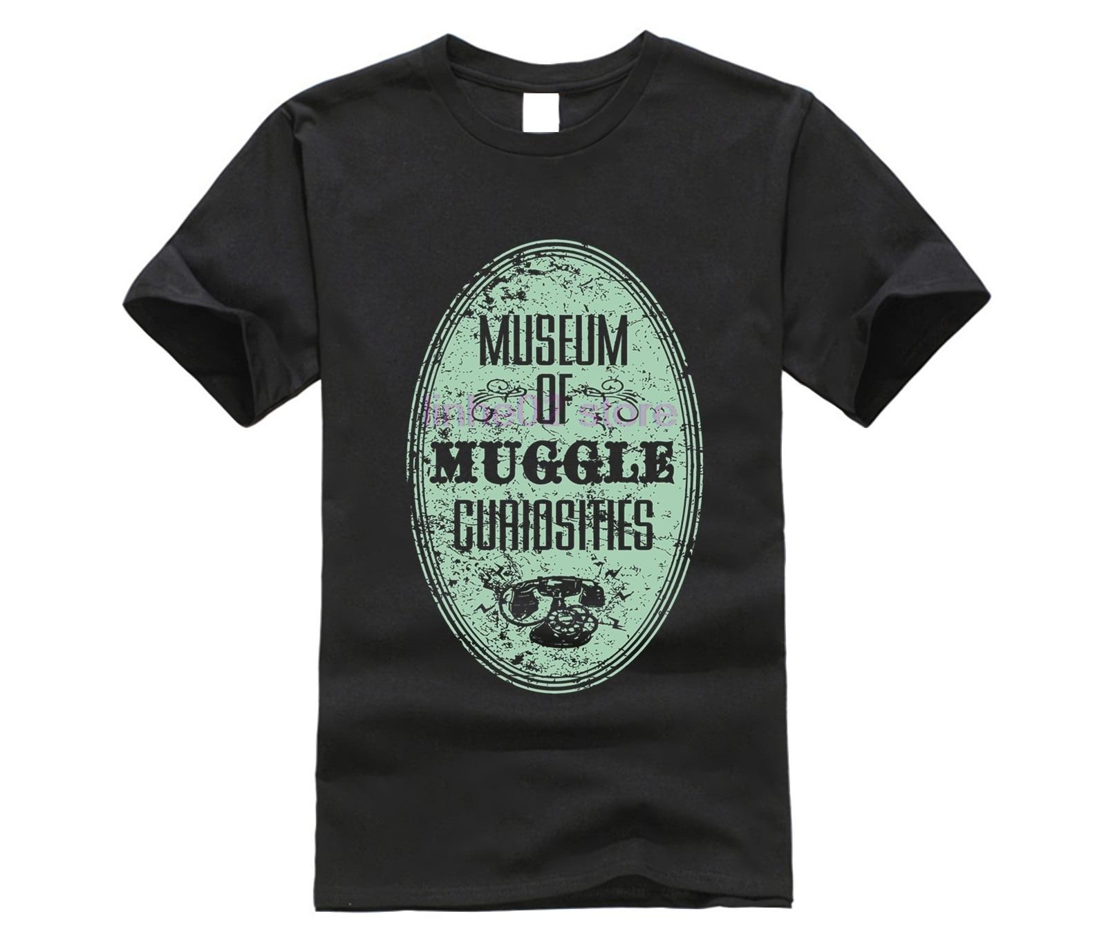 harry men shirt Museum of Muggle Curiosities T-Shirt (2) potter top tee 17