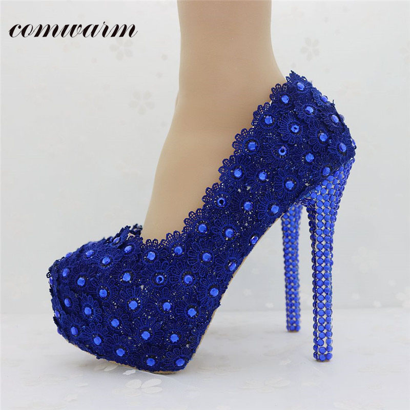Popular Wedding Blue Heels-Buy Cheap Wedding Blue Heels lots from ...