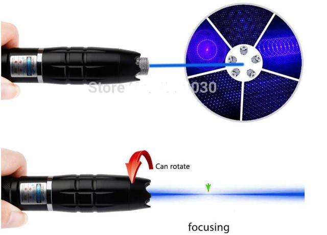 Best Promotion Powerful Blue Noble Laser Pointer light Pen 450nm Beam Match Cigarette Burning Star Cap 90000mw Adjustable