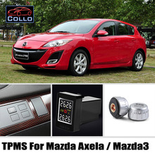 Auto TPMS For TOYOTA Mazda 3 Mazda3 Axela / Tire Pressure Monitoring System Of External Sensors / Embedded Installation DIY Easy