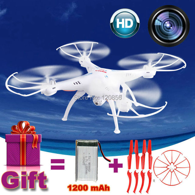 2.4G 32CM Syma X5SC RC Drone Quadcopter with 2MP HD camera helicopter Remote control model Gift 1200 mAh upgrade Battery VS X5HW