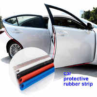 Car Door Protection Strips Rubber Edge Doors Moldings Side Protector Sticker Scratches Vehicle For Cars Auto Car styling