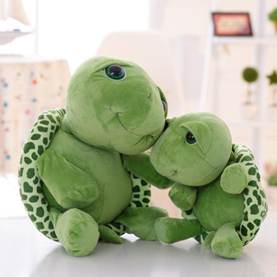 Big Eyes Turtle Plush Toy Large Doll Gift Tortoise Brinquedos Educativos Soft Toy Doll For Child Peluches De Animales 70C0112 huge 120 cm turtle plush toy big head tortoise doll throw pillow christmas gift w1903