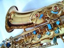 Alto Saxophone instrument 2017 new Yanagisawa Alto saxophone Electrophoretic gold The metal mouthpiece Hot selling Sax