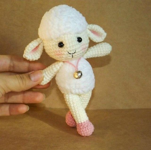 Amigurumi Häkeln Baby Dusche Rassel Die Schafe Geschenk Für Freind