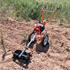 Multi Purpose Hand Push Type Portable Weeding Machine Lawn Mower Soil Loosening Machine With Four Stroke