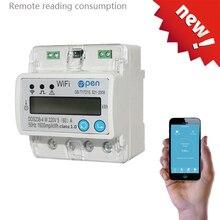 Wifi Пульт дистанционного управления смарт-переключатель с контролем энергии над/под защитой напряжения для умного дома