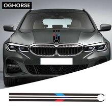 Для BMW F20 F22 F30 F32 F10 G30 G20 E60 E46 E90 Z4 X3 X4 X5 X6 автомобиля капот Racing Stripes линии наклейка крышка двигателя Стикеры