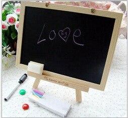 novo mdf branco quadro ardosia pequeno blackboard para nots escritorio fornecedor 20 30cm casa decorativa giz