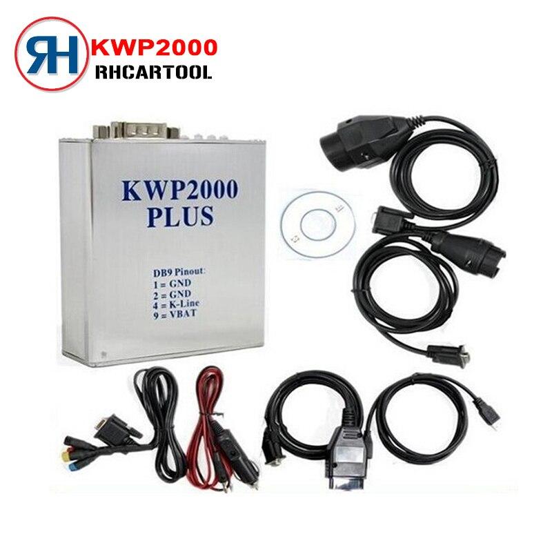 Цена за Горячие Продать Автомобиль Диагностический Сканер KWP2000 ЭКЮ Тюнинг Инструмент OBD2 автоматический Диагностический Код Читателя Scan Tool Kwp 2000 plus экю flasher