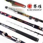 Carbon Fibre Rock ISO Fishing Rods CEWAY YS 6 GOLD Fishing Tackle Fish Poles Telescope ISO Pole Bolognese Rod FREE SHIPPING