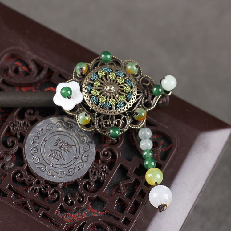 Vintage Chinese Jewelry Hairpin 5