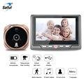 Saful Digitale Kijkgaatje Video Camera Deurbel Video-eye met TF Card Nemen Foto Deur Kijkgaatje Viewer Monitor voor thuis