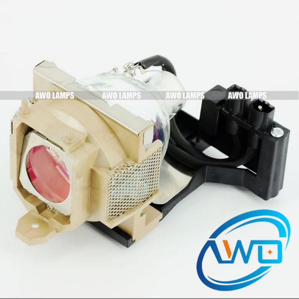 AWO 6E.J2G01.001 Replacement Projector Lamp with Housing for BENQ PB8255 PB8256 PB8265  180 Day Warranty awo quality sp lamp 007 compatible projector lamp replacement for infocus lp250 at best price 150 day warranty