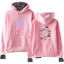 BTS Striped Pullover Hoodie [25 Styles]