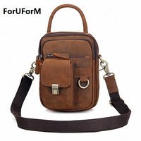 New Guarantee 100 Genuine Leather Men Messenger Bags Casual Small Shoulder Bags For Men Cross Body