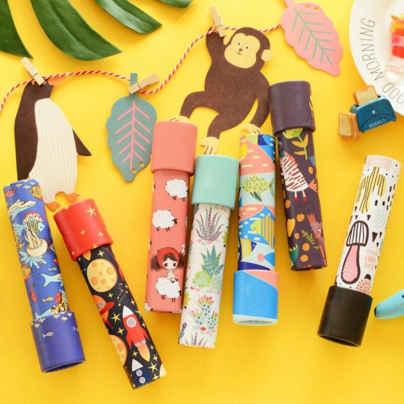 2018 juguetes de moda para chico de dibujos animados caleidoscopio de rotación extendida ajustable de color de fantasía niños de juguete Autismo 5 colores juguetes creativos juguetes Fidget cadena de bicicleta Fidget juguete para el autismo TDAH estrés manos Juguetes Divertidos para niños