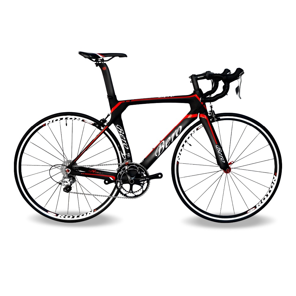BEIOU Carbon Road Bike 700C Shi mano 105 5800 22S Racing Bicycle 500mm 520mm 540mm 560mm Ultra-light 18.3lbs CB013A2